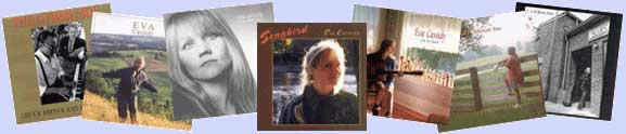 Small photos of seven Eva Cassidy album covers